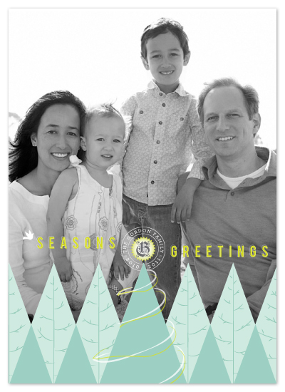 holiday photo cards - Above the Tree Tops by Design Lotus