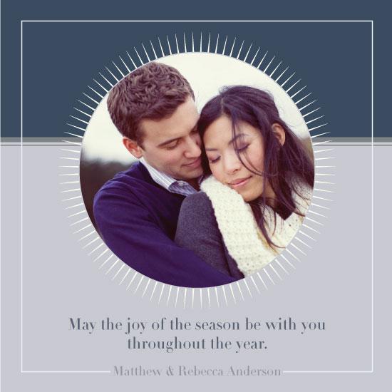 holiday photo cards - Modern Family Wreath by Rachel Carmichael