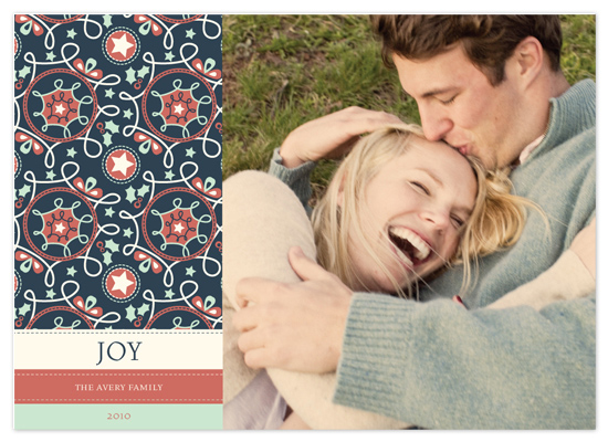 holiday photo cards - Preppy Pattern by Mandy Rider