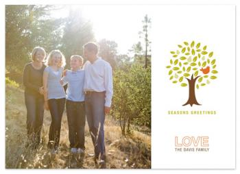 Pear Family Holiday Photo Cards