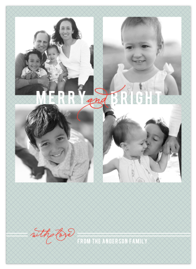 holiday photo cards - Merry and Bright by Sydney Newsom