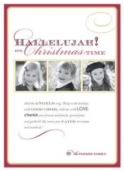 Hallelujah Holiday Photo Cards