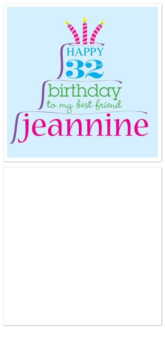 birthday cards - Crazy Cake by Laura Hancko