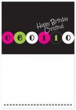 Birthday Dots by Laura Hancko