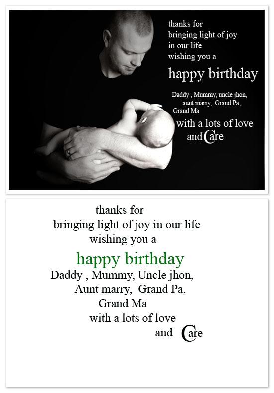 birthday cards - black and white yet colourful by Pranshu Kumar Chaudhary