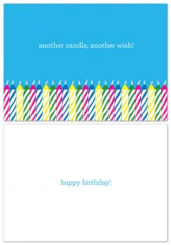 Wishing Candles Birthday Cards