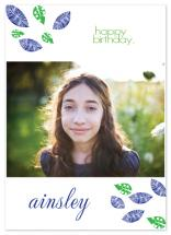 Birthday leaves! by Etched