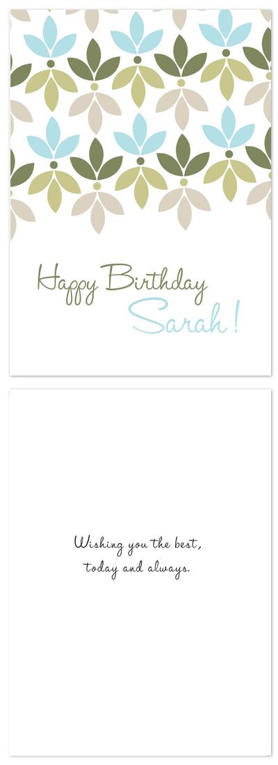 birthday cards - Modern Birthday Card