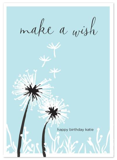 birthday cards - Make a Wish by Diana Heom