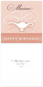 Magic Wishes Birthday Cards