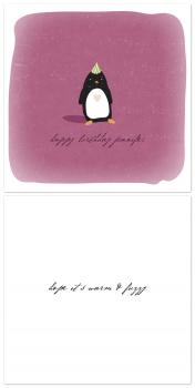 warm & fuzzy Birthday Cards