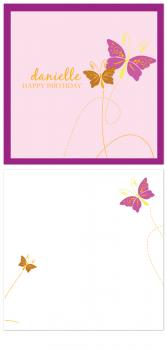 Butterfly Wishes Birthday Cards