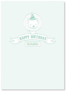Mighty Birthday Lion Birthday Cards