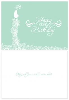 Art Nouveau Birthday Card Birthday Cards
