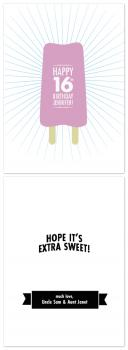 Sweet Popsicle Birthday Card Birthday Cards
