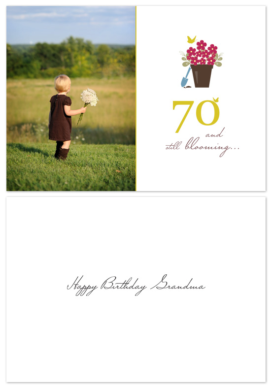 birthday cards - birthday bloom by lena barakat