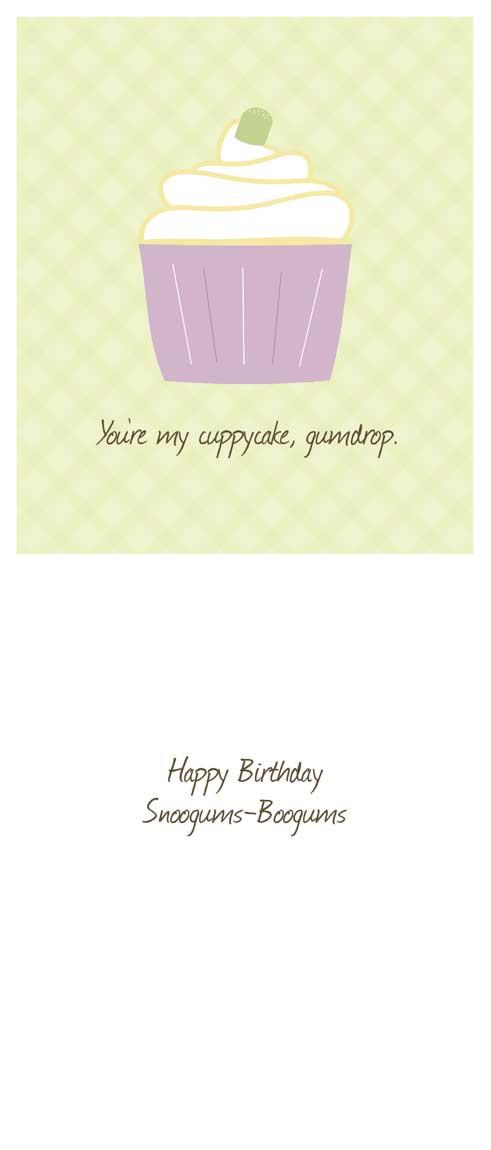birthday cards - Happy Birthday Cuppycake by Lulu Creates