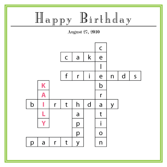 birthday cards - Let Me Spell It Out For You! by Rachel Carmichael