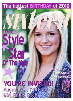 Sixteen Magazine Cover