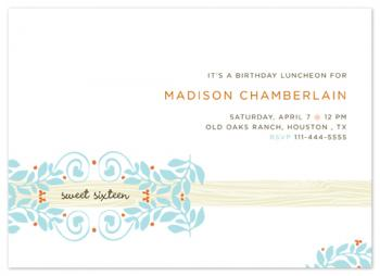 southern charm Party Invitations