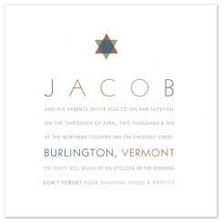 Jacob Party Invitations