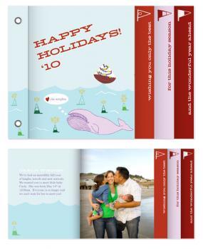 Ocean Cheer Minibook Cards