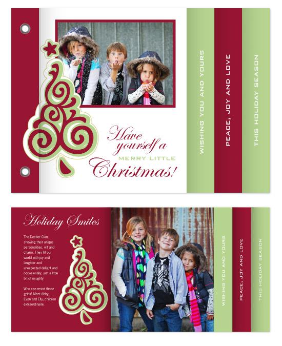 minibook cards - Swirl Tree by Gott Graphics Design