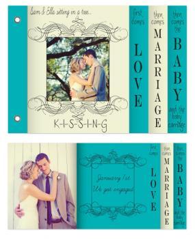 K-I-S-S-I-N-G Minibook Cards