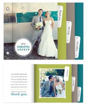 Tabs Minibook Cards