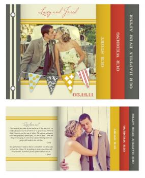 A Love Story Minibook Cards