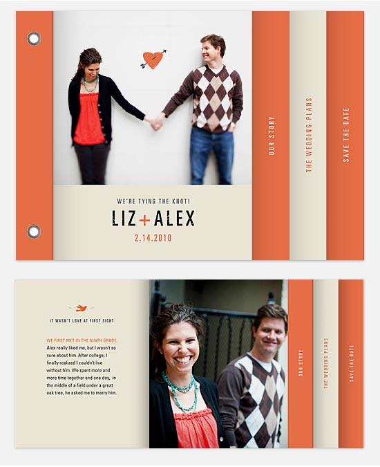 minibook cards - cupid's arrow by Katie Wahn
