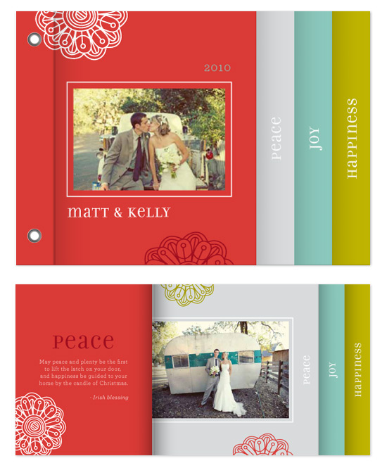 minibook cards - Rustic Rosette by Paper Dahlia