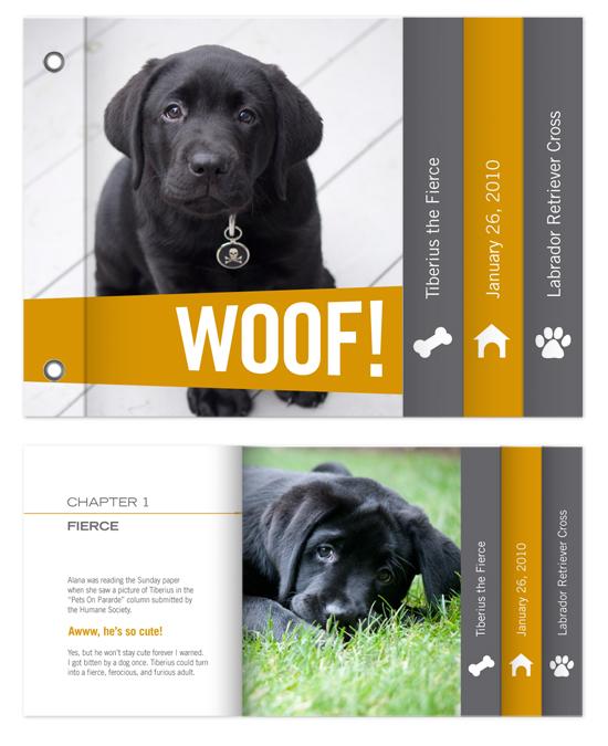 minibook cards - Woof!(Hello!) by Betta