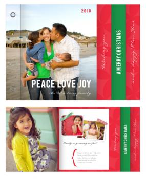 Peace Love Joy_scrapbook Minibook Cards