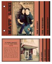Urban Brick Red by Audrey Clayton