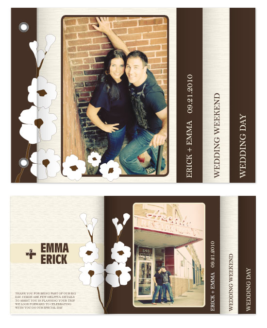 minibook cards - Solid Oak Love by Moe and Me