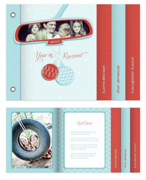 Year in Rearview Minibook Cards