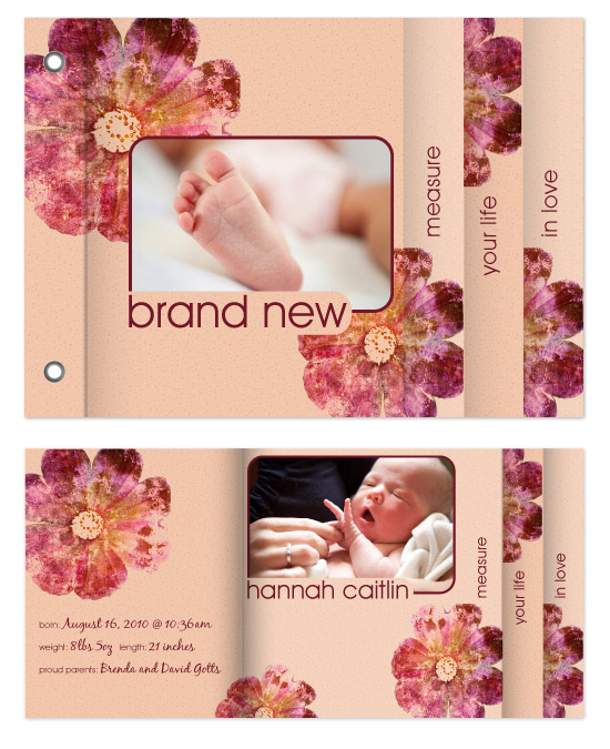 minibook cards - Brand New by Gott Graphics Design