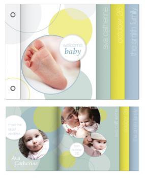 Confetti Minibook Cards