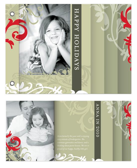 minibook cards - Flourish by Natalie Navales
