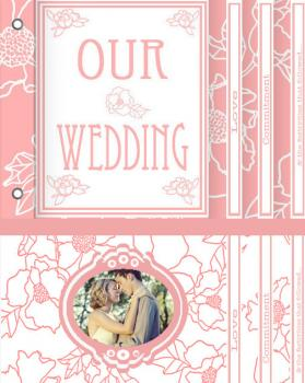 Our Wedding Minibook Cards