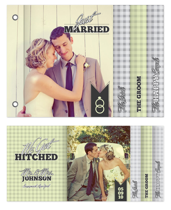 minibook cards - Hitched by Adam Lorber