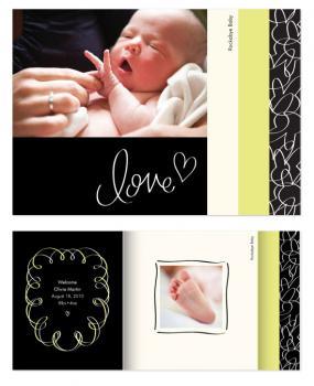 Rockabye Baby Minibook Cards
