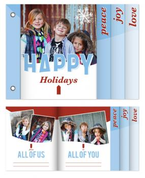 From Us To You Minibook Cards