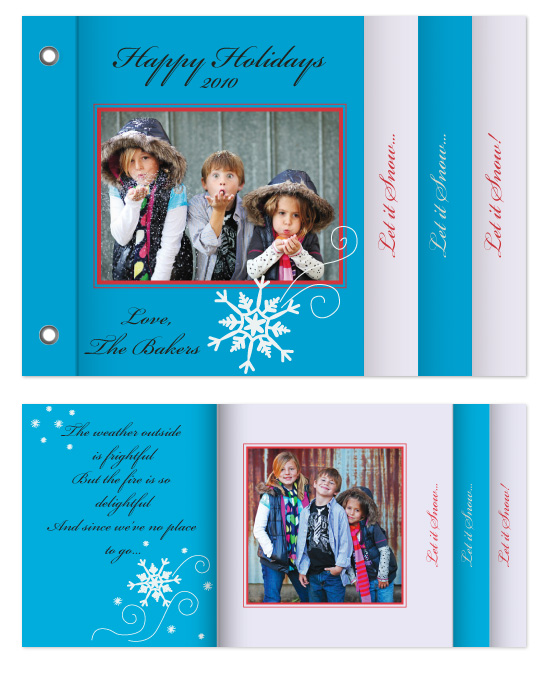 minibook cards - Let it Snow!!! by Erika Anderson