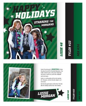 All-Star Holiday Minibook Cards