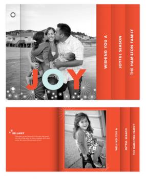 Joyful Season Minibook Cards