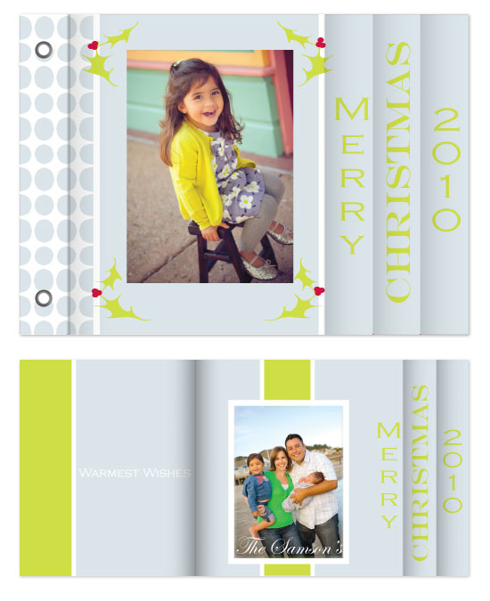 minibook cards - Modern Christmas II by Jennifer Stein of PS Designs Etc.