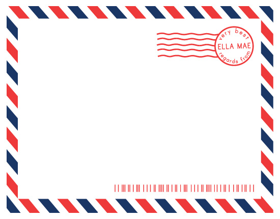Personal Stationery Airmail At Minted Com