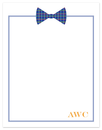 personal stationery - Bow Tie by Rebekah Canavan
